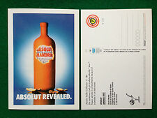 Pubblicità Advertising Cartolina Card vodka (Italy) ABSOLUT REVEALED n 144/2208