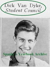 1940's Actor Comedian DIck Van Dyke High School Yearbook~Photos~Drama~Magic~++++