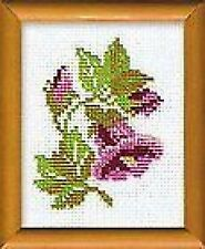 Floral Bell Cross Stitch Kit (riolis 642) 13 X 16 Cm