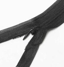 "Wholesale 1-1000 Zippers 22""/56cm Black Closed End Invisible/ hidden zip Long"