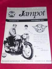JAMPOT - AJS & MATCHLESS - Nov 1991 # 465