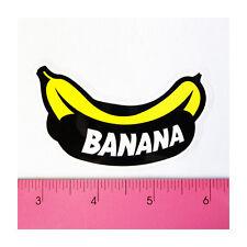 Skateboard Car Window Bumper Guitar Laptop PVC Decal Sticker - Yellow Banana B