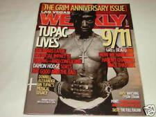 Las Vegas Weekly Magazine Tupac Shakur 2Pac 10 Year Anniversary Issue