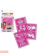 Snazaroo Girls Face Paint Stencils, Fantasy - Set of 6