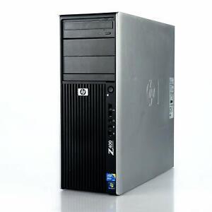 HP Z400 WorkStation Computer PC 2.8GHz Quad Core Xeon - Windows 10 Pro