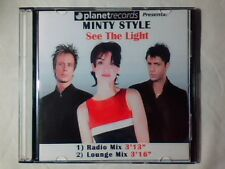 MINTY STYLE See the lights cd singolo PR0M0 RARISSIMO 2 TRACKS