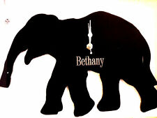ELEPHANT CLOCK,  WALL MOUNTED CAN BE PERSONALISED