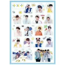 Kpop TXT Photo Stickers DIY Album Scrapbooking Notebook YEONJUN SOOBIN Fans Gift