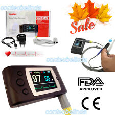 Handheld pulse oximeter,blood oxygen Monitor,SPO2,pulse rate TFT Display CMS60C