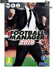 Football Manager 2018 Steam Key Pc Download Code EU
