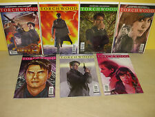 TORCHWOOD #1-4 + #2.1-2.3 - Complete Run - DOCTOR WHO - Titan BARROWMAN Fuso