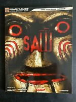 Saw Prima Official Strategy Guide Covers the Xbox 360 & ps3 Platform Game