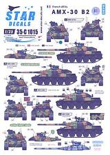 Star Decals 1/35 French Army AMX-30 B2 TANK