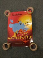 Rare Aladdin Promo Movie Poster 22L by 15.5W