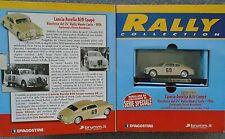 Lancia Aurelia B20  Brumm Limited Edition 1/43 Cream Montecarlo Rally BIG BOX