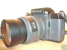 PENTAX SF7 35MM FILM SLR CAMERA & PENTAX - F ZOOM 28-80MM~3.5-4.5 MACRO LENS M11
