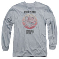 Pink Floyd ANIMALS TOUR 77 Licensed Adult Long Sleeve T-Shirt S-3XL