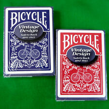 Bicycle Safety Playing Cards Red / Blue