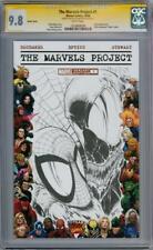 MARVELS PROJECT #1 CGC 9.8 SIGNATURE SERIES SIGNED SPIDER-MAN VENOM SKETCH MOVIE