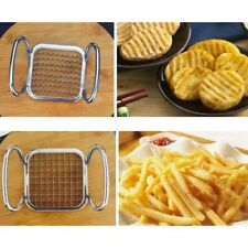5 In1 French Fry Potato Chip Slicer Cutter Vegetable Fruit Chopper Chipper Blade