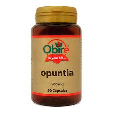 OPUNTIA o NOPAL 500 mg 90 Cápsulas - OBIRE - Quemagrasa