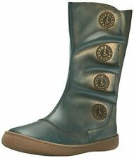 New LIVIE & LUCA Shoes Boots Tiempo Blue Gold Toddler 4