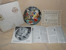 1988 WALT DISNE SNOW WHITE AND THE SEVEN DWARFS LIMITED EDITION COLLECTOR PLATE