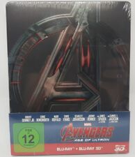 Marvel's Avengers Age of Ultron - Limited Steelbook (2D + 3D ) Blu-ray