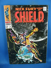 NICK FURY AGENT OF SHIELD 6 VF STERANKO 1968