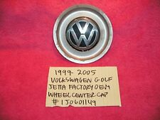 1999-2005 VOLKSWAGEN GOLF JETTA FACTORY OEM WHEEL CENTER CAP FREE SHIPPING