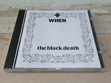 When (Lars Pedersen) - The Black Death  rare first press TATRA 1992 CD  1Burzum