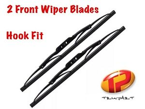 """22"""" + 22"""" (550mm + 550mm) A Pair Hook Fit Quality Front Wiper Blades TV55 TV55"""
