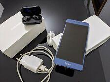 Huawei Honor 8 blu 4-32gb con cuffie bluetooth nuove omaggio
