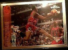 1996-97 Topps Chrome Dennis Rodman #176 (Michael Jordan in background) NRMNT+