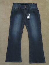 New Women's Flavour by Bubblegum Stretch Bootcut Blue Jeans Size 14P 14 Petite