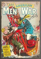 ALL-AMERICAN MEN OF WAR #15 1954 NICE VG/FN 4 GREAT STORIES GRANDENETTI COVER
