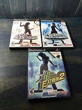 Dance Dance Revolution Lot SuperNova, SuperNova 2, Extreme 2   (Playstation 2)