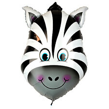 Zebra Animal Large Helium Balloons - 24'' Foil Balloon