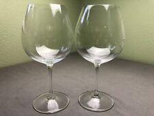 "RIEDEL Pinot Noir / Burgundy Crystal Glass 8 1/2"" Set of 2"