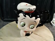 More details for rare betty boop sailer  head teapot - paul cardew collectibles - never used