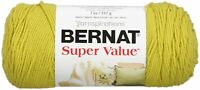 Bernat Super Value Solid Yarn-Grass, 164053-53223