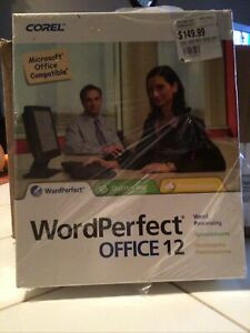 Corel WordPerfect Office 12 Home Edition Microsoft Office Compatible  NEW  CD