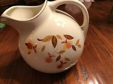 Hall Jewel Tea Autumn Leaf - Ball Pitcher with Ice Lip