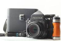 [Near MINT In Case] Pentax 67 TTL Late Mirror Up SMC P 90mm F2.8 Grip From JAPAN