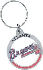 Atlanta Braves 3-D Metal Key Chain MLB Licensed Baseball