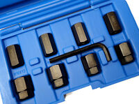 9pc Stud Removal & Installer Kit M6 M8 M10 Nut & Bolt Socket Tool Set