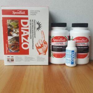 Speedball Diazo Photo Emulsion Printmaking + Screen Printing Stencils DIY Kit