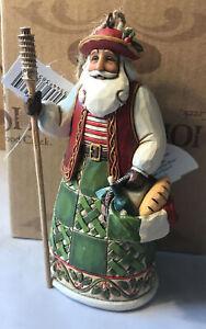 Jim Shore ~ ITALIAN SANTA Hanging Ornament ~ 4022944 ~ NEW IN BOX