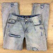 KsubiKids Girls Distressed Denim Jeans Size 8 Adjustable waist (WW1)