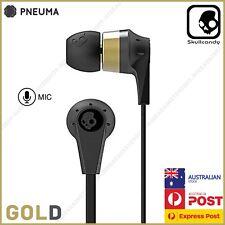 Skullcandy Ink'd 2 Earphones Headphones With Mic For Iphone Samsung Ipad - GOLD